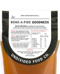 certified organic beef bone broth 500g