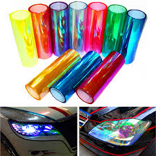 Car Light Stickers 12 X 48 Chameleon Vinyl Car Film Sticker Decal For Headlight Tail Light Car Light Sticker Chameleon Vinylcar Film Aliexpress