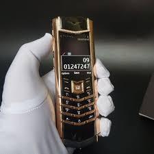 Vertu Signature S Diamond Gold 750