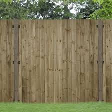 Forest Garden Pressure Treated Featheredge Panel 1 5m High