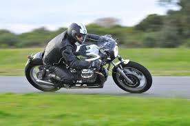 joe s moto guzzi featured in cafe racer