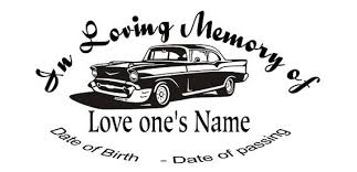 In Loving Memory Car Decal Custom Memory By Inspirationaldecals Loving Memory Car Decals Car Decals Memories