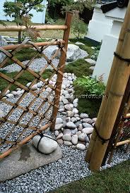 Japanese Style Garden Gate Plant Flower Stock Photography Gardenphotos Com