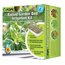 pope raised garden irrigation kit