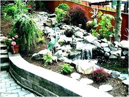 outdoor fountains how to build a low