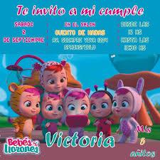 Invitacion Personalizada Whatsapp Imprimible Bebes Llorones 99