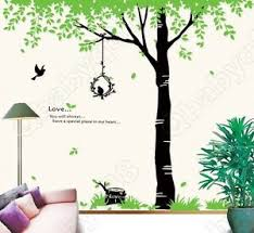 Giant Tree With Love Wall Decals Removable Stickers Decors Diy Art Living Room Ebay