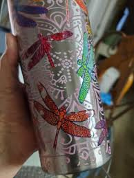 Dragonfly Mandala Tervis