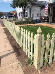 3 4 High Spaced Picket With Gothic Virginia Fence Contracting Facebook