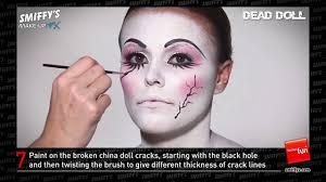 doll face painting make up tutorial