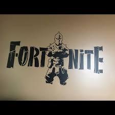 Wall Art New Fortnite Wall Decal Removable Gamers Vinyl Poshmark