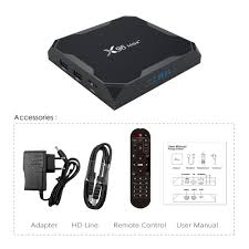 Buy X96 MAX Plus Android 9.0 TV BOX HD Video Player and Google ...