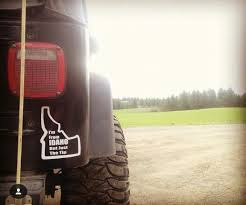I M From Idaho But Just The Tip Vinyl Decal Taylor S Oldtown Farm