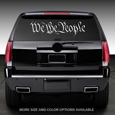 We The People Window Decal Graphic Sticker For Truck Car Suv Etsy