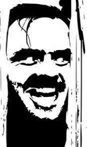 The Shining Jack Nicholson Decal Sticker Car Window Wall Laptop Door Room Ebay