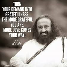 the art of living on turn your demand in to gratefulness