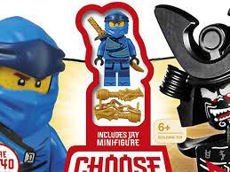 LEGO NINJAGO Choose Your Ninja Mission book available now