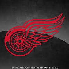 Detroit Red Wings Nhl Vinyl Decal Sticker 4 And Larger 30 Color Options Ebay