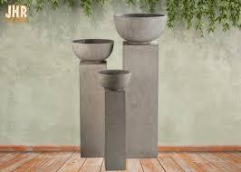 fiberclay garden pots clay flower pots