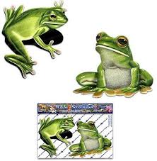 Animal Frogs Funny Decal Sticker Car Cute Vinyl Got Frog