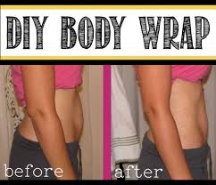 picture of easy homemade body wrap