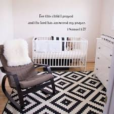Verse 1 Samuel 11 27 Wall Decal For This Child I Prayed Lord Saying Vinyl Decor For Sale Online