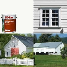 White Exterior Barn Fence Paint Mildew Resistant Livestock Safe Oil Latex 82474035016 Ebay