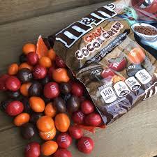 m m s creepy cocoa crisp review snack
