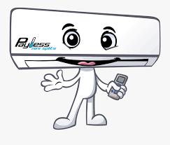 split air conditioner cartoon free