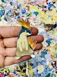 Quilava Pokemon Custom Vinyl Sticker Die Cut Decal Limited Etsy