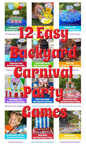 12 easy carnival birthday party