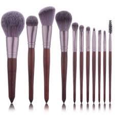 11pcs sandalwood color cosmetic make up