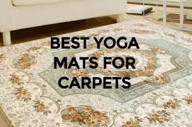 7 best yoga mats for carpet in 2020
