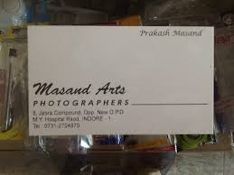 Masand Arts Photographers, My Road - Photographers in Indore - Justdial