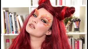 poison ivy makeup hair