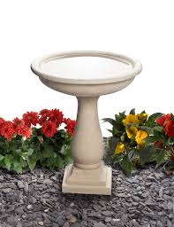 garden décor wilston stone bird bath