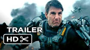 Tom Cruise...fighting... Live Die Repeat... He is in loop fighting ...