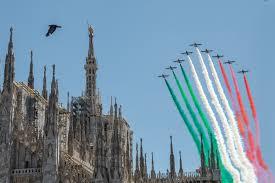 Giro d'Italia delle Frecce Tricolori 2020: il programma completo