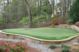 tour greens backyard putting green cost