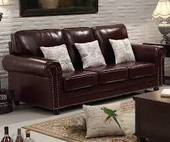 european style leather chesterfield