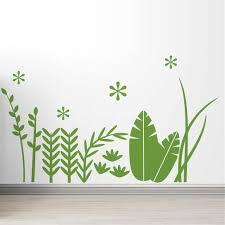Littlelion Studio Tropical Grass Wall Decal Wayfair