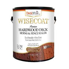 Deckwise Deck Siding Pre Tinted Wisecoat Natural Wood Semi Transparent Exterior Stain And Sealer Gallon In The Exterior Stains Department At Lowes Com