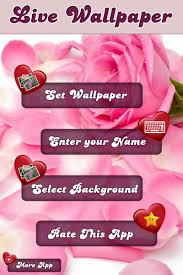 my love name live wallpaper for android