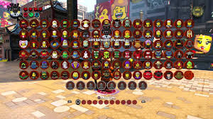 The LEGO Ninjago Movie Video Game - All 101 Characters Showcase (Entire  Character Roster) - YouTube