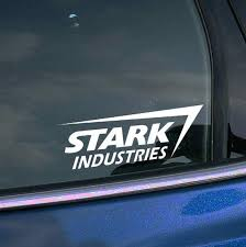 2x Stark Industries Decal Vinyl Sticker Iron By Cardecalsbyrino Phone Decals Vinyl Sticker Stark Industries