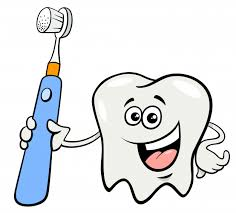 Ząb Postać Z Kreskówki Szczoteczka Do Zębów | Premium Wektor