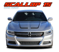 Dodge Charger 2015 2016 2017 2018 Scallop Oem Style Vinyl Graphics Decals And Stripes Kits Model Specific Car Truc Dodge Charger Stripe Kit Vinyl Graphics