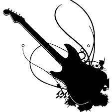 Shop Rock N Roll Guitar Vinyl Wall Decal Overstock 9091235