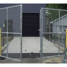 Chain Link Fence Gate Drop Rods Commercial Industrial Grade Hoover Fence Co