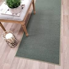 non skid rubber backed teal area rug